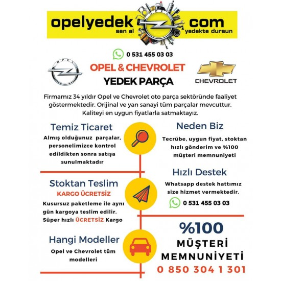 Opel Astra H Tek Tırnak Buji Takımı (4adet) Orjinal GM