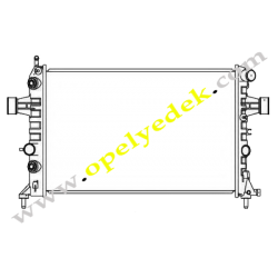 Opel Astra G 1.4 1.6 Su Radyatörü Otomatik Vites KALE MARKA