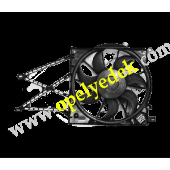 Opel Astra G Tekli Radyatör Fan Motoru Komple